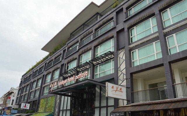 Aya Boutique Hotel Pattaya вид на фасад