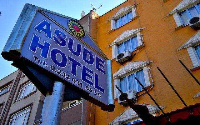 Asude Hotel Bergama Турция, Дикили - отзывы, цены и фото номеров - забронировать отель Asude Hotel Bergama онлайн вид на фасад