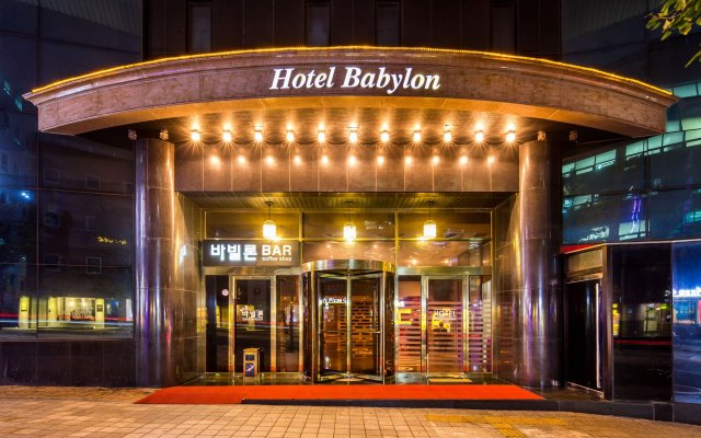 Hotel Tirol Сеул вид на фасад
