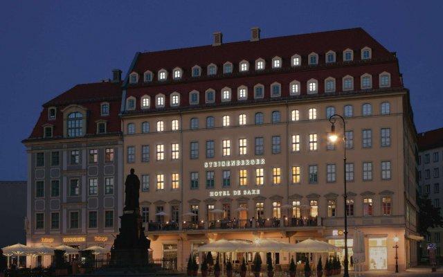 Steigenberger Hotel de Saxe вид на фасад