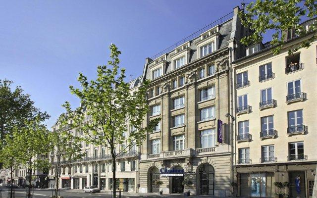 Отель Citadines Saint-Germain-des-Prés Paris вид на фасад