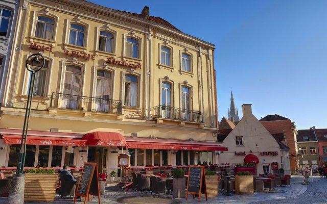 Hotel 't Putje вид на фасад