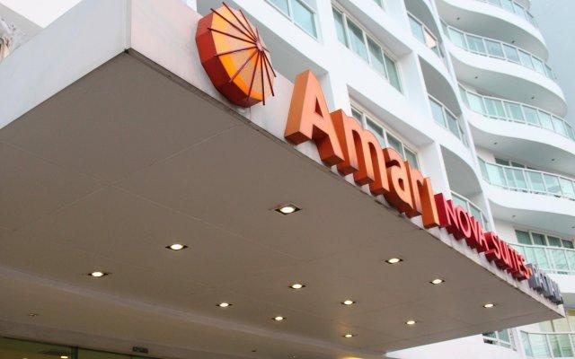 Отель Amari Nova Suites вид на фасад