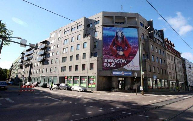 Отель Center Hotel Эстония, Таллин - - забронировать отель Center Hotel, цены и фото номеров вид на фасад