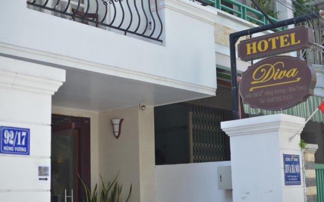 Отель Diva Guesthouse вид на фасад