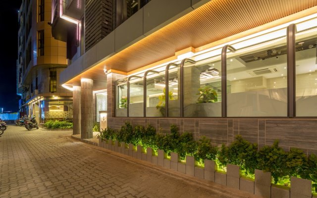 Отель Samann Grand Мальдивы, Мале - отзывы, цены и фото номеров - забронировать отель Samann Grand онлайн вид на фасад