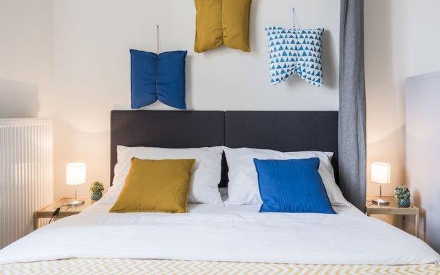 Апартаменты Wenzigova apartments комната для гостей
