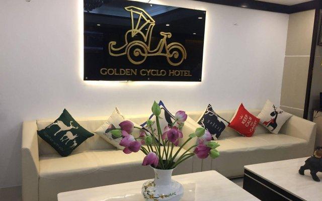Отель Golden Cyclo Ханой комната для гостей