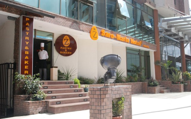 Saro Maria Hotel in Addis Ababa, Ethiopia from 135$, photos, reviews - zenhotels.com hotel front