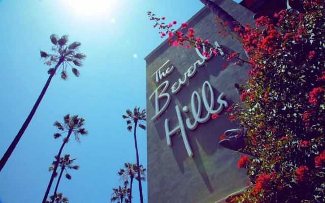 The Beverly Hills Hotel вид на фасад