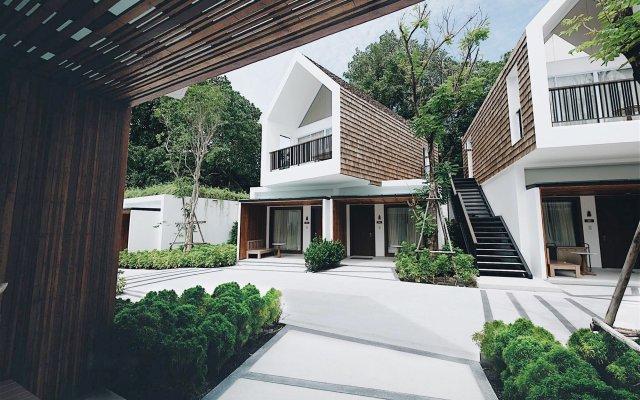 Отель Celes Beachfront Resort Самуи вид на фасад