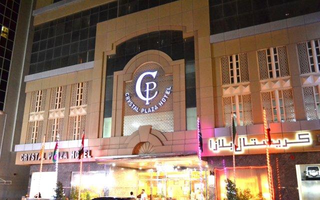 Crystal Plaza Hotel вид на фасад