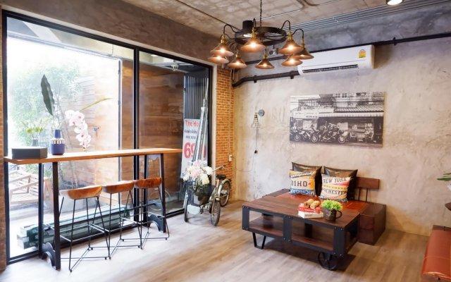 Yotaka The Hostel @Bangkok Бангкок комната для гостей