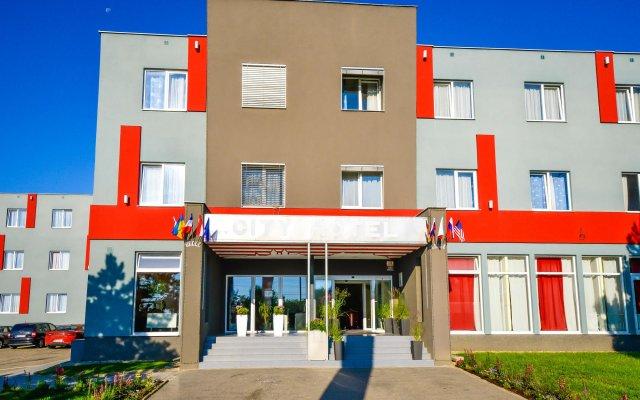 City Hotel Brno Брно вид на фасад