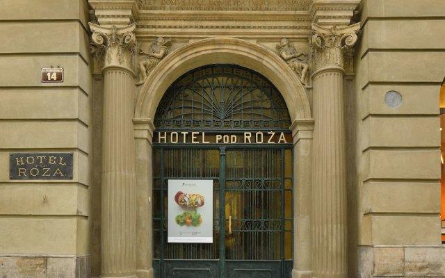 Hotel Pod Roza вид на фасад