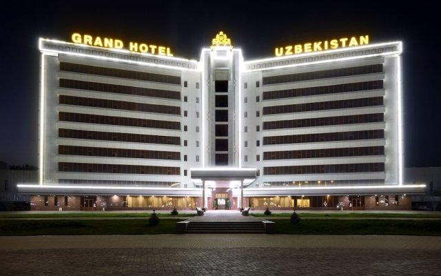 Отель Grand Hotel Uzbekistan Узбекистан, Джизак - 1 отзыв об отеле, цены и фото номеров - забронировать отель Grand Hotel Uzbekistan онлайн вид на фасад