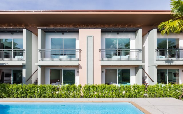 Отель Parida Resort вид на фасад