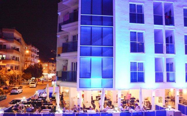 Отель Cleopatra Golden Beach Otel - All Inclusive вид на фасад