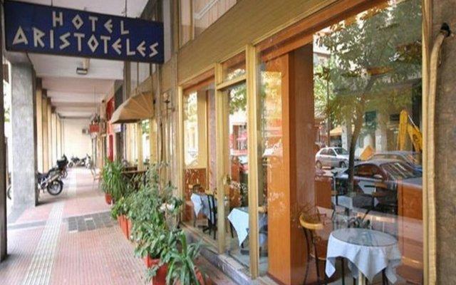 Отель Aristoteles Hotel Греция, Афины - 10 отзывов об отеле, цены и фото номеров - забронировать отель Aristoteles Hotel онлайн вид на фасад