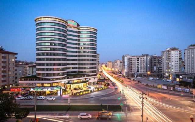 Отель Yilmazoglu Park Otel Газиантеп вид на фасад