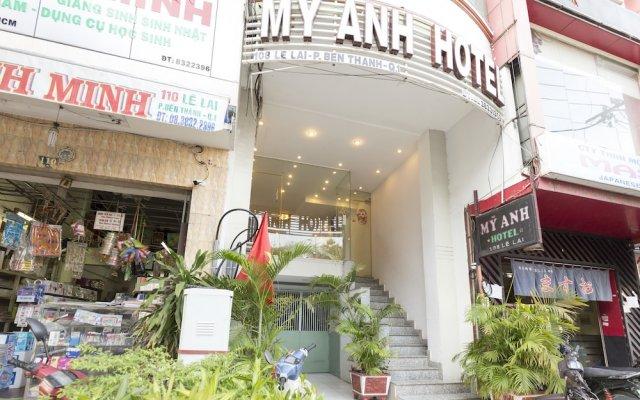 Отель 7S Hotel My Anh Вьетнам, Хошимин - отзывы, цены и фото номеров - забронировать отель 7S Hotel My Anh онлайн вид на фасад