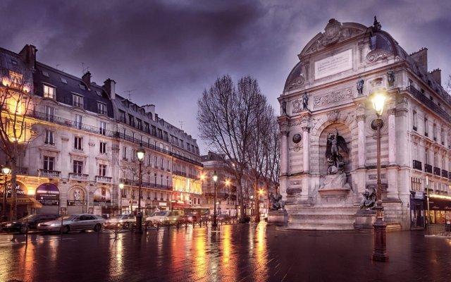 Отель Central Saint Germain Франция, Париж - 3 отзыва об отеле, цены и фото номеров - забронировать отель Central Saint Germain онлайн вид на фасад