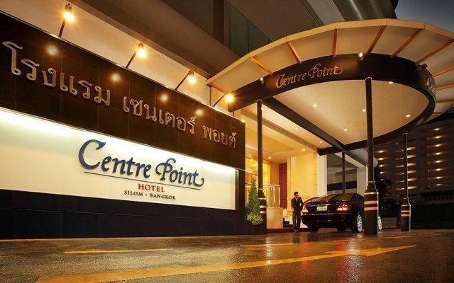 Отель Centre Point Silom Бангкок вид на фасад
