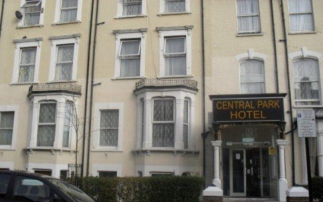 Отель Central Park Hotel Великобритания, Лондон - отзывы, цены и фото номеров - забронировать отель Central Park Hotel онлайн вид на фасад