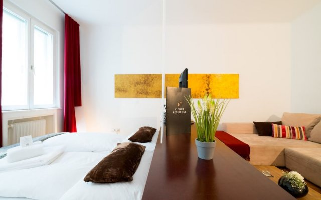 Апартаменты Vienna Residence Conventient Apartment for 2 With Perfect Airport Connection Вена комната для гостей