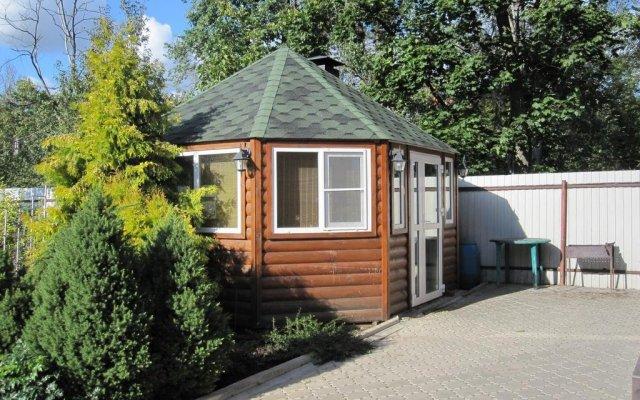 Гостевой дом Волшебный Сад вид на фасад