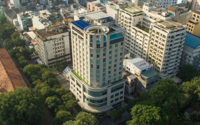 Отель Central Palace Hotel Вьетнам, Хошимин - отзывы, цены и фото номеров - забронировать отель Central Palace Hotel онлайн вид на фасад
