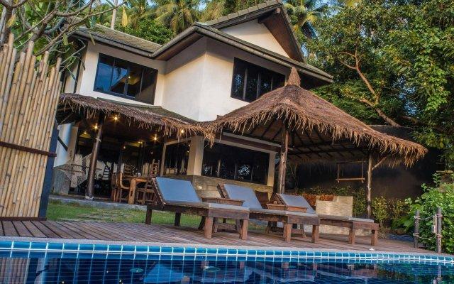 Отель Koh Tao Heights Boutique Villas Таиланд, Остров Тау - отзывы, цены и фото номеров - забронировать отель Koh Tao Heights Boutique Villas онлайн вид на фасад