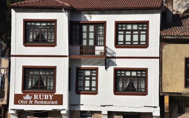 Ruby Hotel вид на фасад