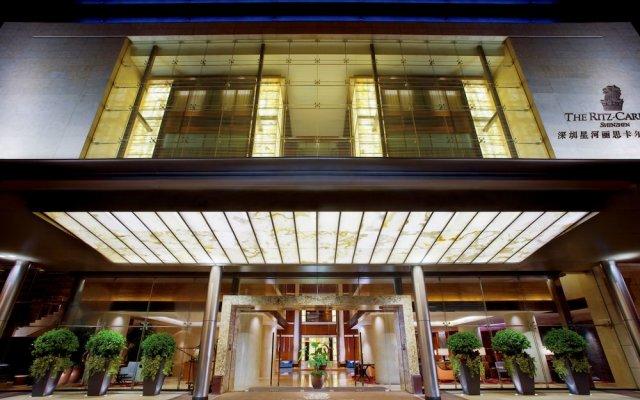 Отель The Ritz-Carlton, Shenzhen Китай, Шэньчжэнь - отзывы, цены и фото номеров - забронировать отель The Ritz-Carlton, Shenzhen онлайн вид на фасад
