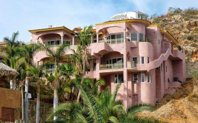 Отель Villa Luces Del Mar Педрегал вид на фасад