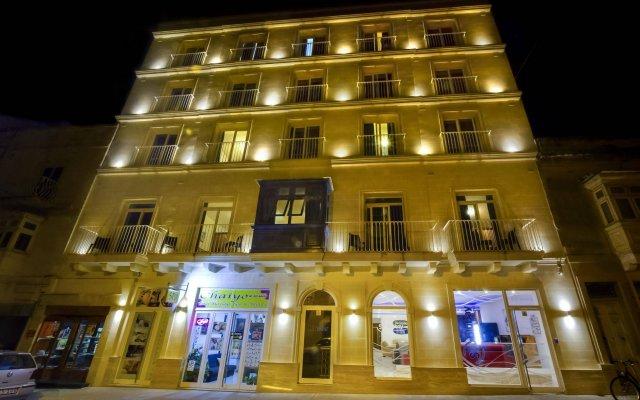 Отель Blubay Apartments Мальта, Гзира - отзывы, цены и фото номеров - забронировать отель Blubay Apartments онлайн вид на фасад