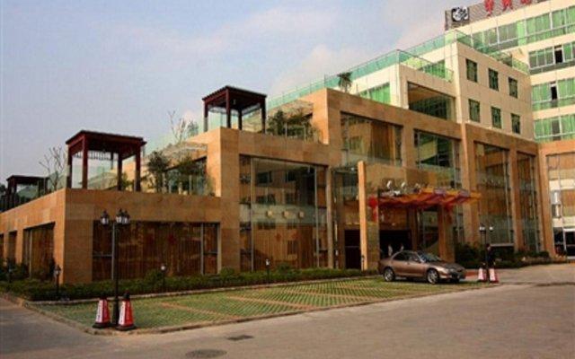 Landmark International Hotel Science City вид на фасад