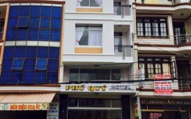 Отель Phu Quy Далат вид на фасад