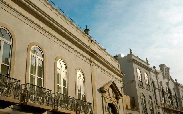 Отель Da Estrela Лиссабон вид на фасад