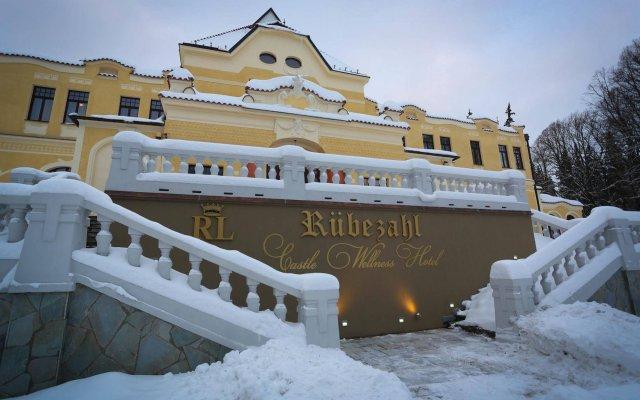 Отель Rubezahl-Marienbad вид на фасад