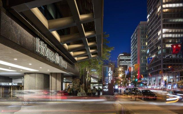 Отель Omni Mont-Royal Канада, Монреаль - отзывы, цены и фото номеров - забронировать отель Omni Mont-Royal онлайн вид на фасад