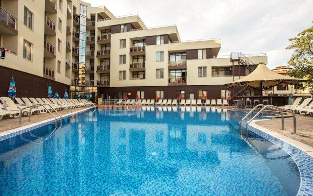 Отель Laguna Park & Aqua Club - All Inclusive Болгария, Солнечный берег - отзывы, цены и фото номеров - забронировать отель Laguna Park & Aqua Club - All Inclusive онлайн вид на фасад