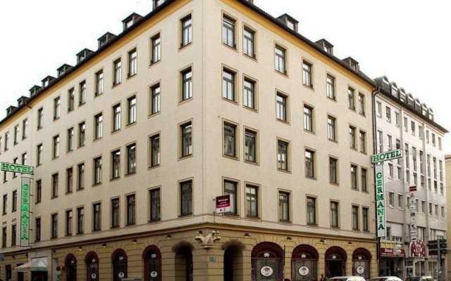 Germania Hotel вид на фасад