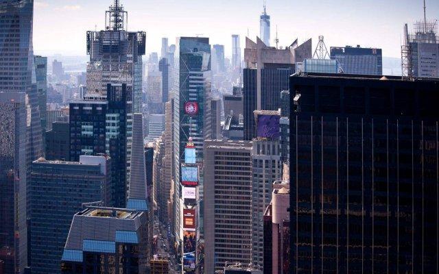Отель Residence Inn by Marriott New York Manhattan/Central Park вид на фасад