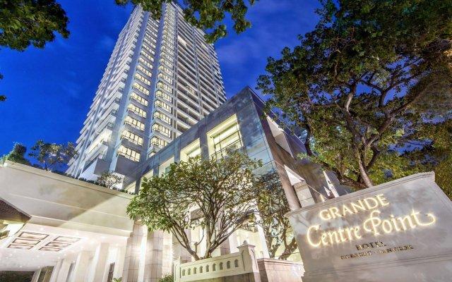 Отель Grande Centre Point Hotel Ploenchit Таиланд, Бангкок - 3 отзыва об отеле, цены и фото номеров - забронировать отель Grande Centre Point Hotel Ploenchit онлайн вид на фасад