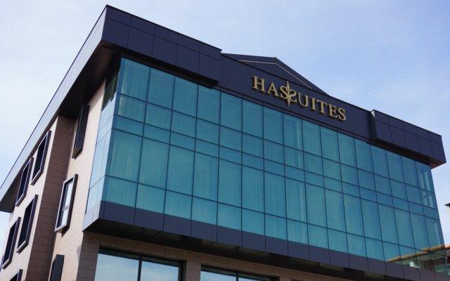 Отель Hassuites Muğla вид на фасад