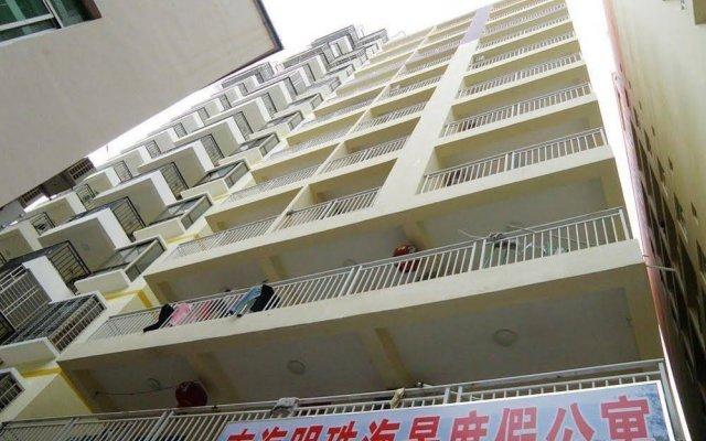 Апартаменты Nanhai Mingzhu Sea View Holiday Apartment вид на фасад