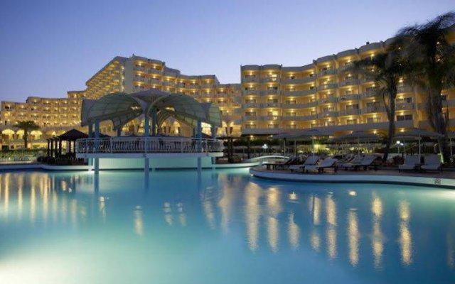 Отель Rodos Palladium Leisure & Wellness Греция, Парадиси - 1 отзыв об отеле, цены и фото номеров - забронировать отель Rodos Palladium Leisure & Wellness онлайн вид на фасад