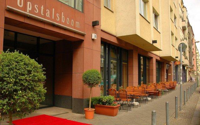 Отель Upstalsboom Hotel Friedrichshain Германия, Берлин - 2 отзыва об отеле, цены и фото номеров - забронировать отель Upstalsboom Hotel Friedrichshain онлайн вид на фасад