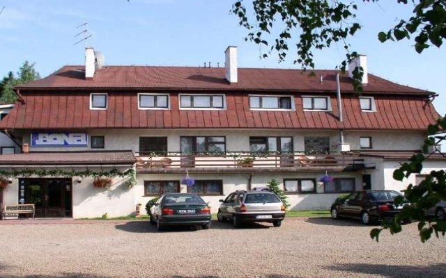 Отель BONA Краков вид на фасад